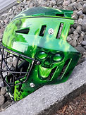 Unihockey Helm Airbrush