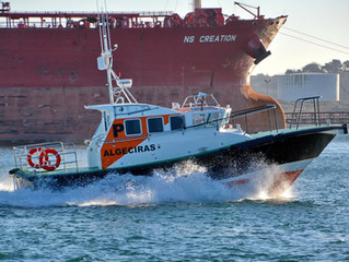 'Calaneras' the new Interceptor 38 pilot boat for the port of Algeciras, Spain.