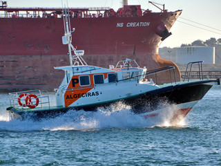 'Calaneras' the new Interceptor 38 pilot boat for the port of Algeciras, Spain.