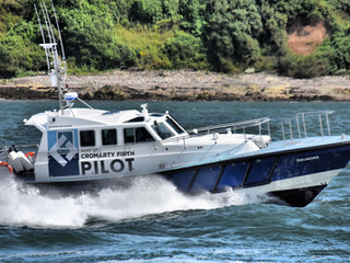 SAFEHAVEN MARINE DELIVER A NEW INTERCEPTOR 48, 15M PILOT VESSEL TO THE PORT OF CROMARTY FIRTH, SCOTL