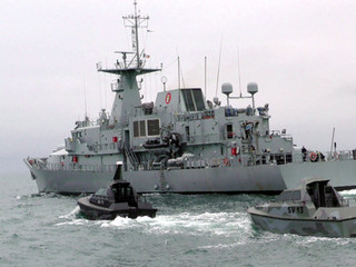 The Irish Naval Service through IMERC collaborate with Safehaven Marine and validate Barracuda's &#3
