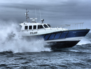 Safehaven Marine deliver 'Juliet' an Interceptor 48 Pilot, their 3rd pilot vessel supplied to the Ma