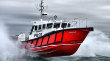 'SANAAG' A new Pilot boat for the Port of Berbera, Somaliland in Africa delivered by  Safehaven Mari