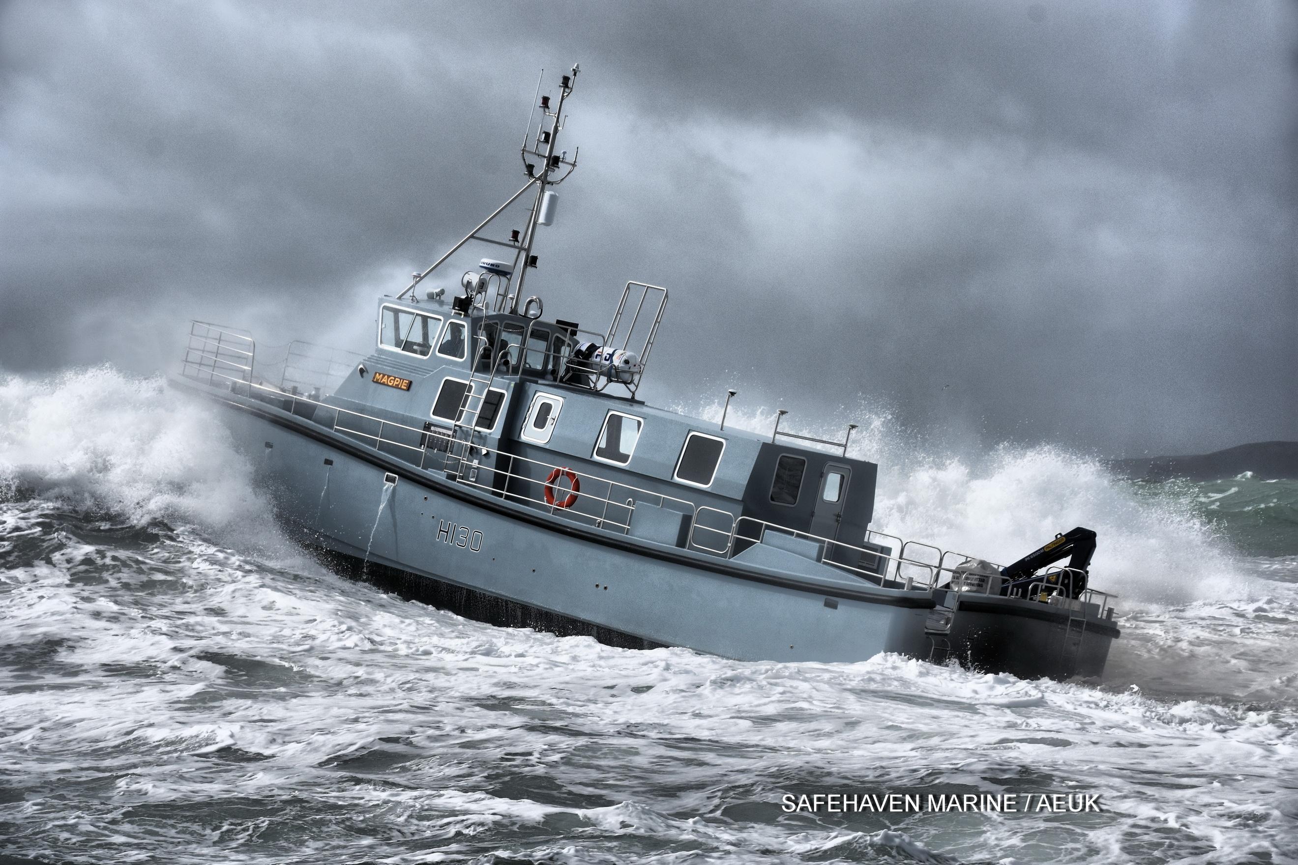HMS Magpie 3 Safehaven Marine