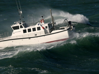 SAFEHAVEN DELIVER A WILDCAT 53 RESEARCH CATAMARAN TO K.I.S.R. IN KUWAIT