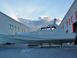 XSV 17, the union of her hull and superstructure