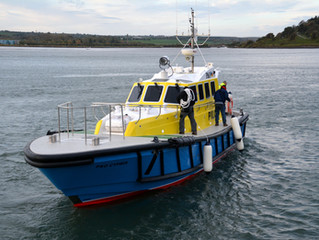 P&O Maritimes new Interceptor 48 pilot vessel 'P&0 Cypria for the Port of Limassol, Cyprus f