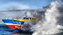 SAFEHAVEN MARINE DELIVER A NEW INTERCEPTOR 48, 15M PILOT VESSEL TO THE SAN JUAN BAY PILOTS, PUERTO R