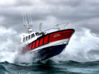 Safehaven Marine launch the first Interceptor 48 'Svitzer Oued Rmel' for operations at the new TM2 P