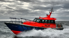 Safehaven Marine launch 'Port Láirge' a new 15m Interceptor 48 pilot for the Port of Waterford