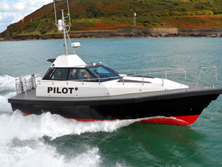 NEW 12M BARRACUDA PILOT BOAT FOR THE UK PORT OF POOLE