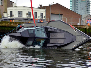 SAFEHAVEN MARINE SUCCESSFULLY UNDERTAKE A SELF-RIGHTING CAPSIZE RECOVERY TEST OF BARRACUDA IN A LIVE