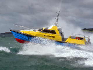 SAFEHAVEN MARINE DELIVER A 2nd PILOT VESSEL TO P&O MARITIME.