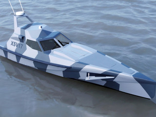 Construction begins on XSV 17, the new larger 17m / 56ft, 60kts version of Barracuda.