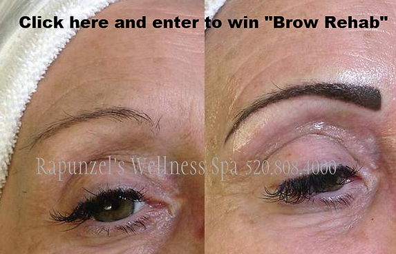 This Month Rapunzels Is Giving A FREE Permanent Makeup Brow Service Which We Have Named Rehab To Make