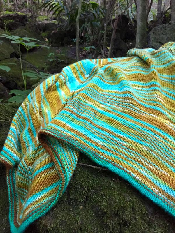 shawl-on-rock
