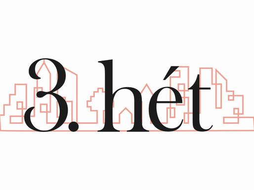 3. HÉT – Szeresd a várost! (2) – Jón. 3-4, ApCsel. 17.16-34.