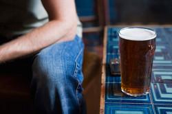 Cerveza en la tabla