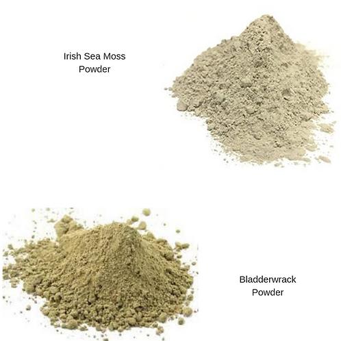 Bladderwrack & Irish Sea Moss Powder Combo