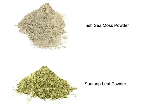 Irish Sea Moss & Soursop Leaf Powder Combo