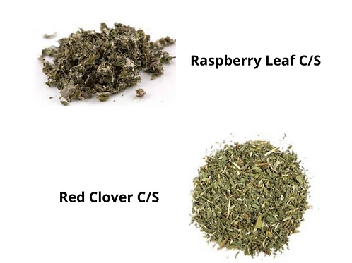 Raspberry Leaf & Red Clover C/S Combo