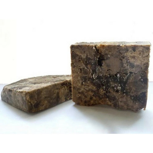 Raw African Black Soap Solid