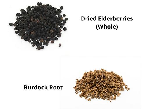 Elderberries & Burdock Root