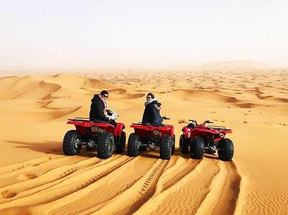 ATV in the dunes