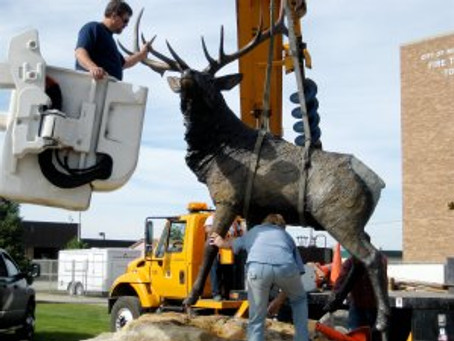 "THE MAKING OF ""HIGH DESERT ELK"" – Part 9"