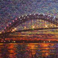 Bayonne Bridge At Dusk