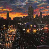 7 Train, Twilight