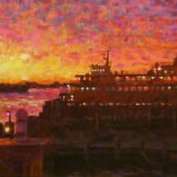 Staten Island Ferry at Sunrise, St. George
