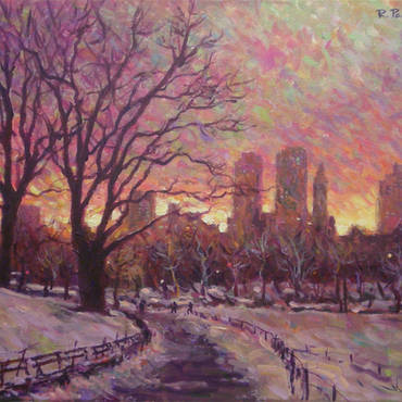 Central Park Winterscape