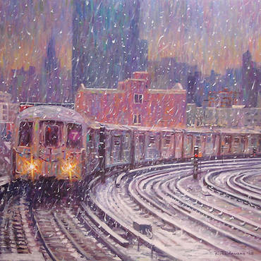 Winter Snow, 7 Train