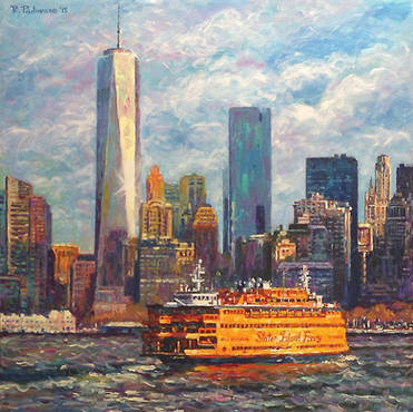 Freedom Tower and Ferry