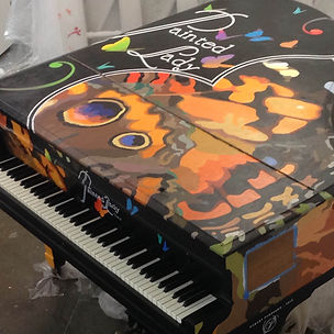 Painted lady Piano close up.jpg