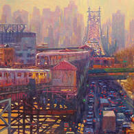 Rush Hour Cityscape, Queens