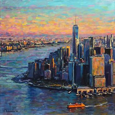 Late Afternoon Lower Manhattan