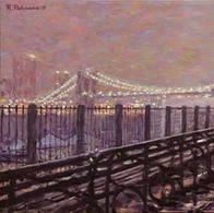 Rainy Evening Brooklyn Promenade