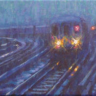 Rainy Evening, 7 Train