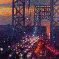 Rush Hour Lights, GW Bridge