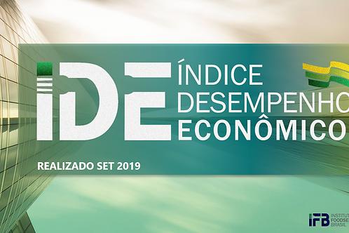 IDE - Índice Desenvolvimento Econômico - SET 2019