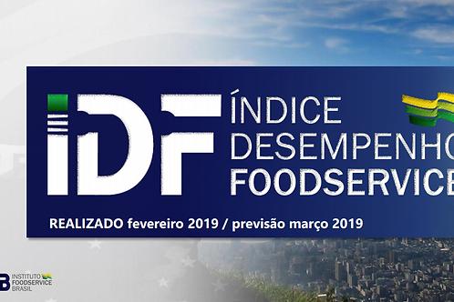 IDF - Índice Desenvolvimento Foodservice - Março/19