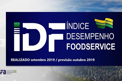 IDF- Índice Desenvolvimento Foodservice - SET 2019