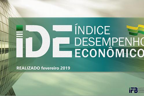 IDE - Índice Desenvolvimento Econômico - Março/19
