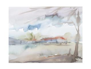 Spyros Kolyvas' water-colours
