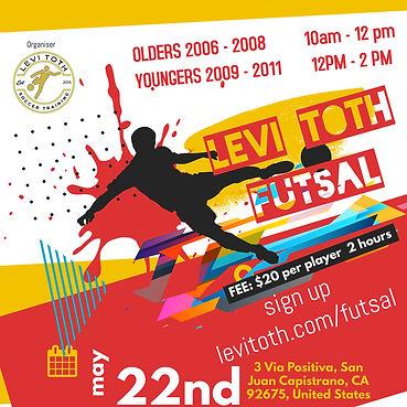 Copy of Soccer Futsal Tournament Flyer S