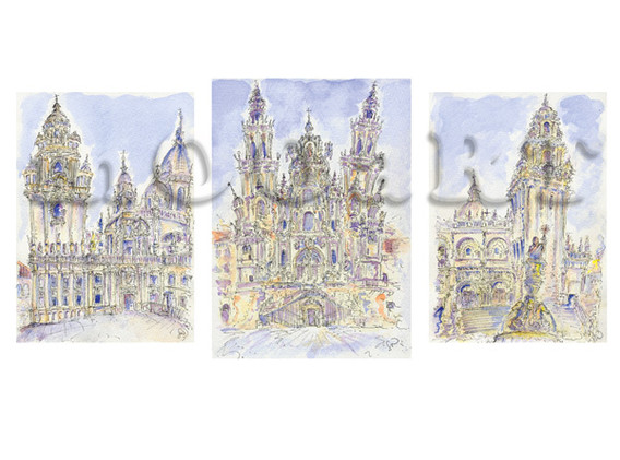 Santiago de Compostela - Triplet