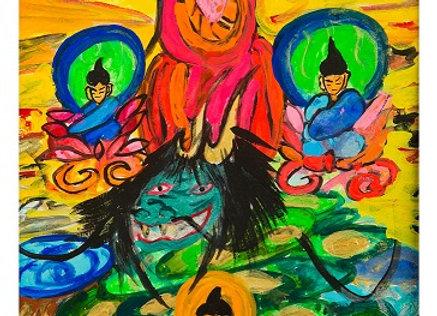 『出雲の龍と四賢者』  フジタヤスヒロ:作