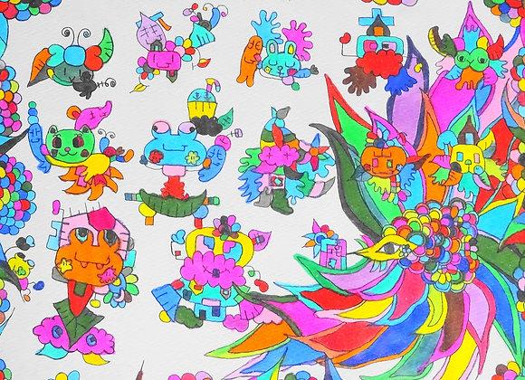 『鳥の舞』高橋百合子:作